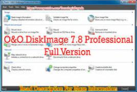 O&O DiskImage Professional Edition v11